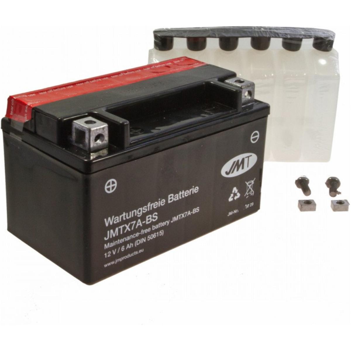 Batterie YTX7A-BS Original Tecnium Wartungsfrei
