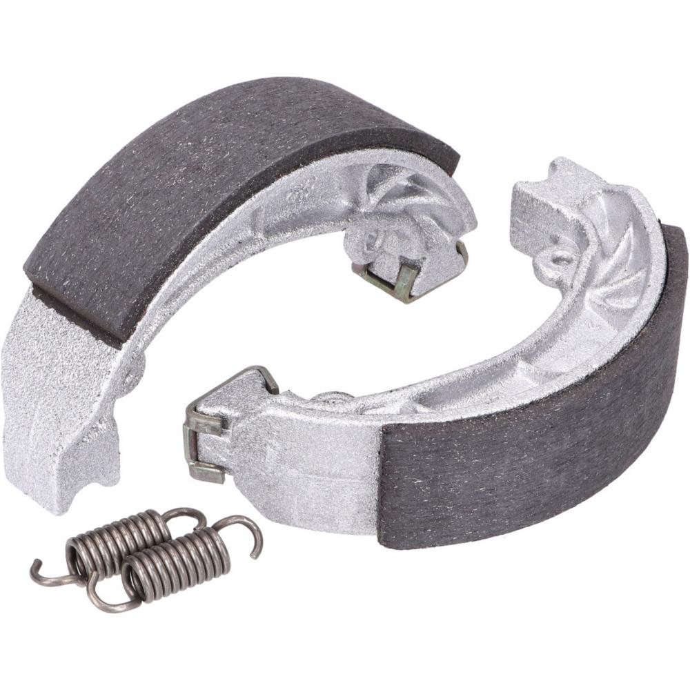 Bremsbackensatz Polini 90x18mm inkl Federn Trommelbremse für Ciao Bravo SI