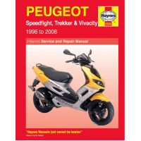 Haynes repair manual 3920 für Peugeot Speedfight  50 VGA S1BACA 2003-2004, 4,1 PS, 3 kw