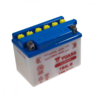 Motorcycle Battery YB4L-B YUASA für Peugeot Speedfight  50 VGA S1BACA 2003-2004, 4,1 PS, 3 kw