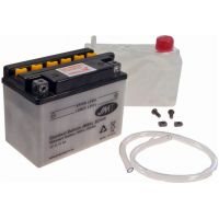 Motorcycle Battery YB4L-B (5AH) JMT für Peugeot Speedfight  50 VGA S1BACA 2003-2004, 4,1 PS, 3 kw