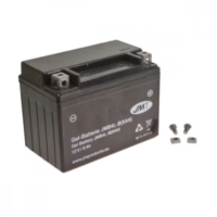 Motorcycle Battery YB4L-B 5A GEL JM für Peugeot Speedfight  50 VGA S1BACA 2003-2004, 4,1 PS, 3 kw