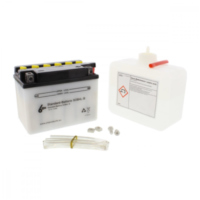 Motorcycle Battery YB4L-B 6-ON für Peugeot Speedfight  50 VGA S1BACA 2003-2004, 4,1 PS, 3 kw