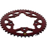 Rear sprocket aluminium 45 tooth pitch 525 red 202Y 52545R