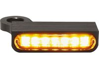 LED control indicator SPORTSTER models 14-, black für Harley Davidson 883 Sportster Super Low  XL2 2014-2014,