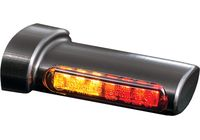 Winglets 3in1 LED indicator-tail light-brake light-combination, all H-D models 93-, black für Harley Davidson 883 Sportster Super Low  XL2 2014-2014,