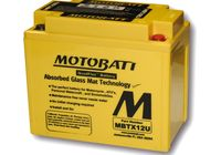 MOTOBATT battery MBTX12U für Harley Davidson 883 Sportster Super Low  XL2 2014-2014,