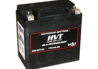 Intact Bike Power battery HVT YTX14L-BS filled and charged für Harley Davidson 883 Sportster Super Low  XL2 2014-2014,
