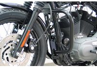 Fehling Crashbar black, HD Sportster Evo ab Bj.04, Roadster/Low, Nightster/Iron für Harley Davidson 883 Sportster Super Low  XL2 2014-2014,