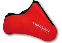 Highsider Indoor motorcycle cover Spandex, XL red für Harley Davidson 883 Sportster Super Low  XL2 2014-2014,