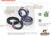 Wheel bearing kit 25-1571, for HD without ABS für Harley Davidson 883 Sportster Super Low  XL2 2014-2014,  (vorn,hinten)