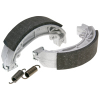 brake shoe set Polini 110x25mm w/ springs for drum brake for Aprilia Amico, SR, Malaguti Centro, Yamaha Jog 176.1200 für Peugeot Speedfight  50 VGA S1BACA 2003-2004, 4,1 PS, 3 kw