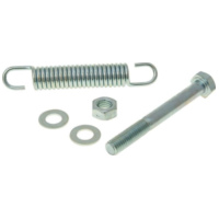 main / center stand bolt and spring 85mm for Tomos A3, A35 28839