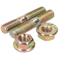 exhaust stud bolt set incl. nuts - M6x32mm IP13864 für Peugeot Speedfight  50 VGA S1BACA 2003-2004, 4,1 PS, 3 kw