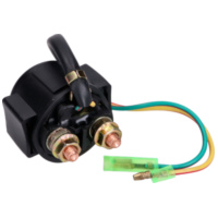 starter solenoid / relay universal for vehicles up to 250cc IP34641 für Peugeot Speedfight  50 VGA S1BACA 2003-2004, 4,1 PS, 3 kw