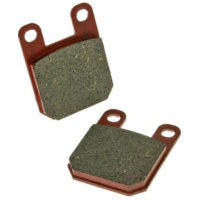 brake pads organic for Derbi Gilera Italjet Peugeot VC19054 für Peugeot Speedfight  50 VGA S1BACA 2003-2004, 4,1 PS, 3 kw